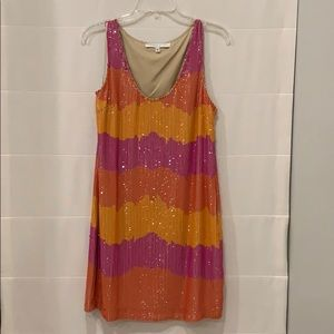Trina Turk sequined party dress! Never been worn!